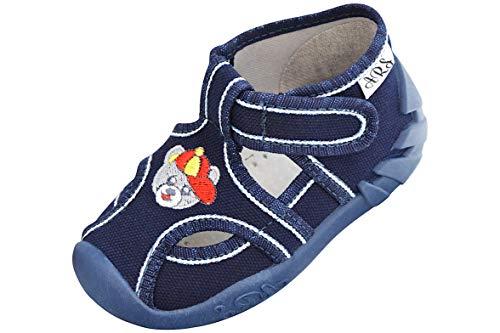 ARS Calzado para ninos pre-Escolar Deportes Plantilla de Cuero Zapatos Zapatillas de Estar por casa 20 21 22 23 274 25 26