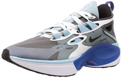 Nike Signal D/MS/X Hombre Running Trainers AT5303 Sneakers Zapatos (UK 6 US 6.5 EU 39, Dark Grey White Ocean 001)
