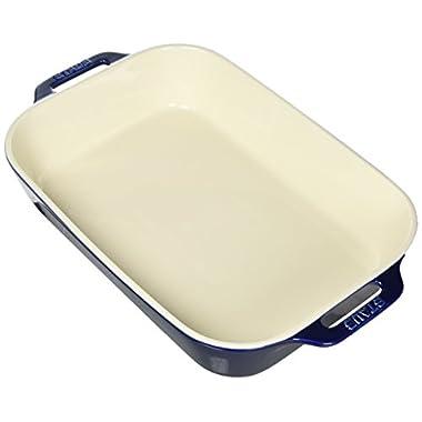 Staub 40508-594 Baking-Dishes, 13  x 9 , Dark Blue