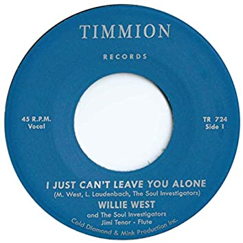 I Just Can't Leave You Alone (feat. Jimi Tenor)