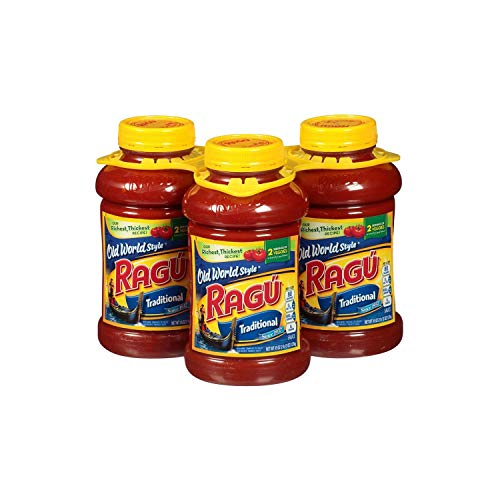 A Product of Ragu Old World Style Traditional Pasta Sauce (45 oz., 3 pk.)
