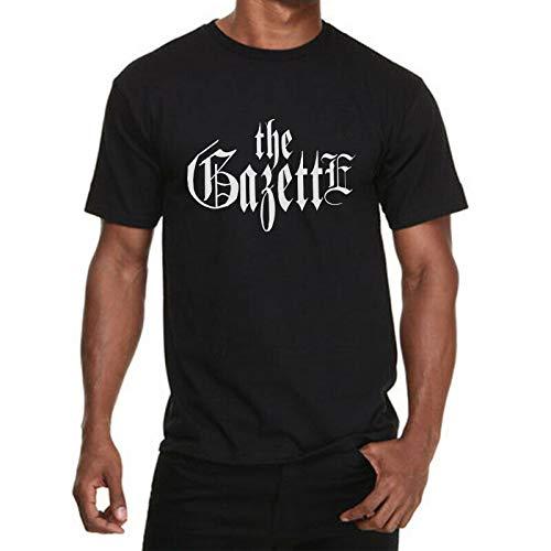 The Gazette Shirt Japan Visual Kei Rock Band Music Tour Black T-shirt