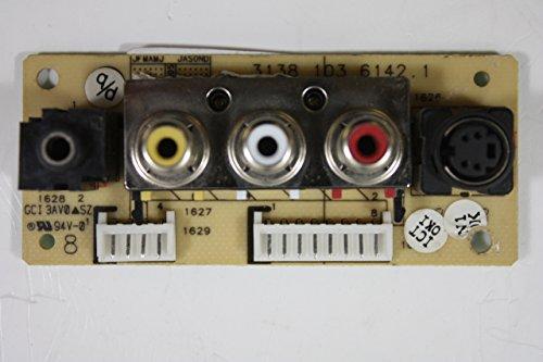 """MAGNAVOX 32"""" 32MF605W/17 3138 103 6142.1 LCD Side AV Input Unit Board"""