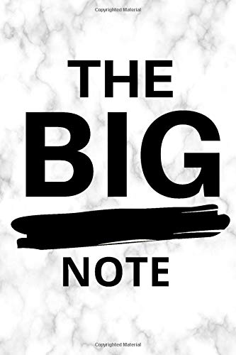THE BIG NOTE: Bullet Journal For Creative Writing For Kids And Adults (6x9 inch | dotted grid paper | Soft Cover | 100 Pages)