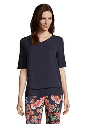 Betty Barclay Damen Fabi 1 T-Shirt, Blau (Dark Sky 8345), (Herstellergröße: 38)