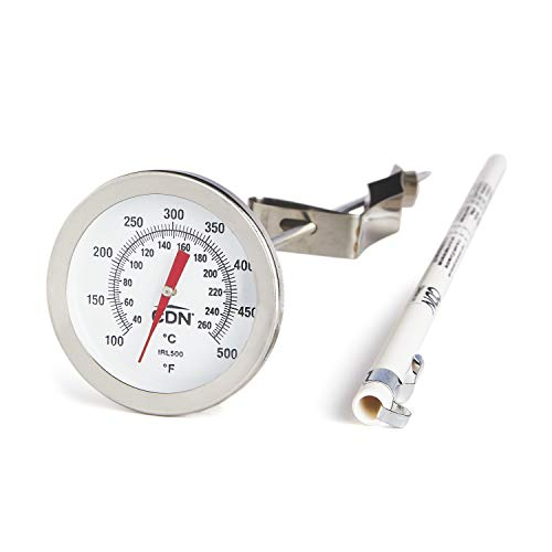 CDN IRL500 Long Stem Fry Thermometer – 12""