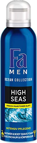 FA MEN Duschschaum High Seas Shower & Shave, 1er Pack (1 x 200 ml)