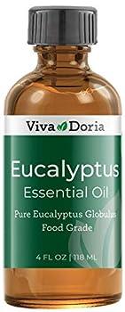 Viva Doria Pure Eucalyptus Essential Oil Pure and Natural Food Grade Premium Quality Eucalyptus Globulus Oil 118 mL  4 Fluid Ounces