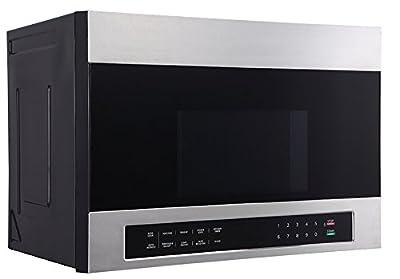 """Avanti MOTR13D3S 24"""" Over The Range Microwave, Stainless Steel"""