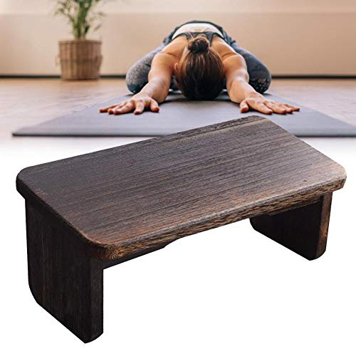 Yoga Stool Robust Wooden Bench Healthy Upright Posture Forming Bench Suitable for Tea...