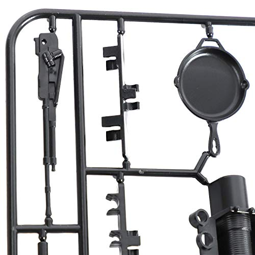 TOOGOO Dekoration Werkzeuge für WPL B16 B36 C34 C24 JJRC Q65 4WD 6WD Auto Ersatz Teile 1/16 RC Auto LKW Teile