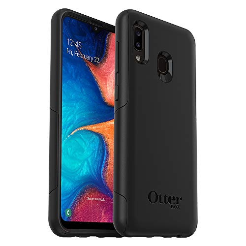 OtterBox Commuter LITE Series Case for Samsung Galaxy A20 - Retail Packaging - Black