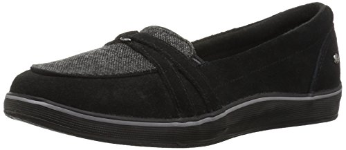 Grasshoppers Women's Windham Suede Fashion Sneaker,Black,10 N US