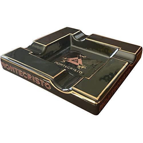 Extravaganza Collection - Cigar Ashtray (Square Black)