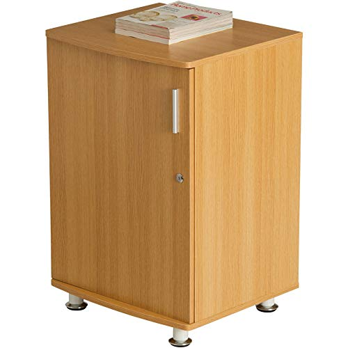 Piranha Schrank zur Arbeitsplatzerweiterung und passend zu unseren Büromöbeln in matt-weißer Optik PC 4s