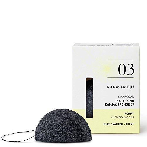 Rola Style Karmameju anthrazit Konjac Schwamm 03