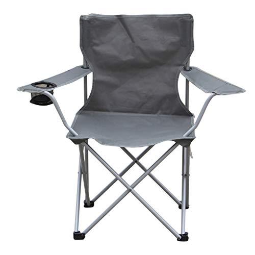 Silla Plegable Pesca en la Playa al Aire Libre Ocio Sentado Silla reclinable Portátil sin Montaje Fácil de Abrir y Cerrar