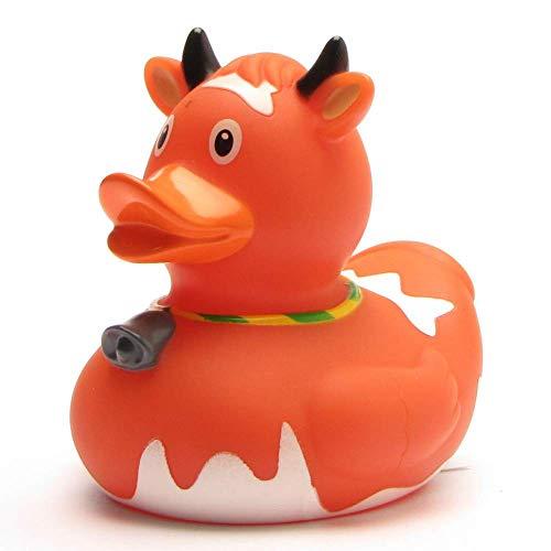 Canard de bain vache Marron