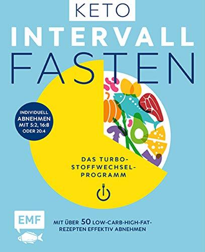 Keto-Intervallfasten – Das Turbo-Stoffwechselprogramm – Mit über 50 Low-Carb-High-Fat-Rezepten effektiv abnehmen: Individuell abnehmen mit 5:2, 16:8 oder 20:4