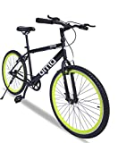 Omobikes Model-1.0 Lightweight |13kg| Fast Light Weight Hybrid Cycle with Alloy Rims, Anti Rust...