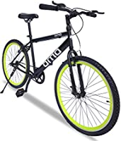 Omobikes 10 Light weight Hybrid Cycle with Alloy Rims Anti