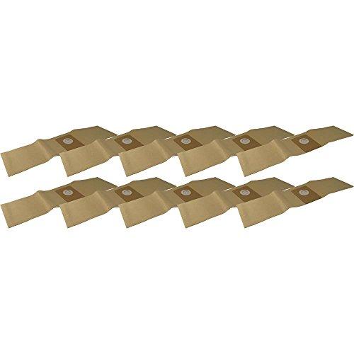 10 Staubsaugerbeutel aus hochfestem Papier passend für Tennant 3410