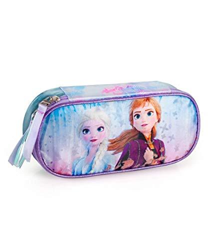 Disney Frozen Schlamper Federtasche Stifte Etui Faulenzer Kinder Tasche