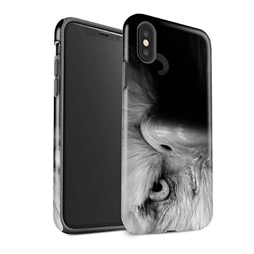Stuff4 beschermhoes voor Apple iPhone XS, Eagle, vogel, dieren, motief dierentuin