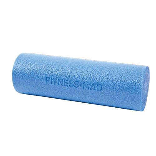 Fitness Mad Foam Roller 6', Rullo di Schiuma Unisex – Adulto, Blue, 45cm