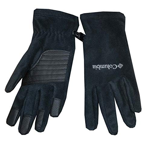 Columbia Women Agent Heat IIl Omni-Heat Thermal Reflective Fleece Gloves (XL, Black)