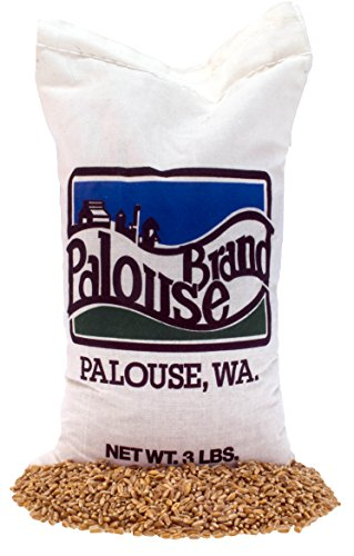 Hard Red Winter Wheat Berries • Non-GMO Project Verified • 3 LBS • 100% Non-Irradiated • Certified Kosher Parve • USA Grown • Field Traced • Cotton Bag