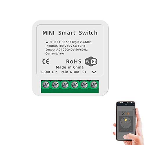 Interruptor inteligente wifi, módulo de relé, mando a distancia...