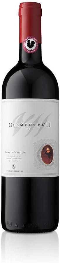 vino tinto italiano Chianti Classico DOCG Clemente VII Castelli del Grevepesa Clemente (1 botella cl. 37,5)