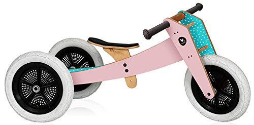 Wishbone Bike - Sonderedition pink - 3-Bikes-in-1 - ab dem 1. Jahr bis zum 5. Jahr verwendbar