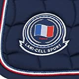Lami-Cell Tapis French Flag - Couleurs - Blanc, Taille Equipement Cheval - Poney