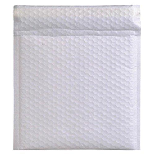 (まとめ買い) シモジマ クッション封筒19-17白無地(10枚) 7523956 【×5】