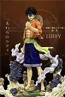 【Dream STUDIOS】ワンピース ONEPIECE フィギュア ルフィ 完成品 検索:POP リペイント 一品物 WCF GK
