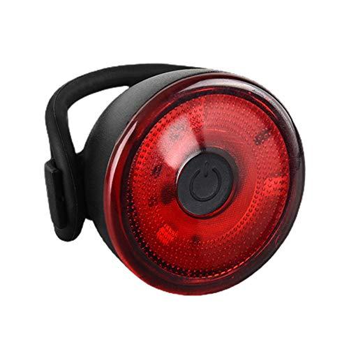 RYRA Luz trasera de bicicleta superbrillante, impermeable, luz LED de advertencia para bicicleta, accesorios de seguridad trasera