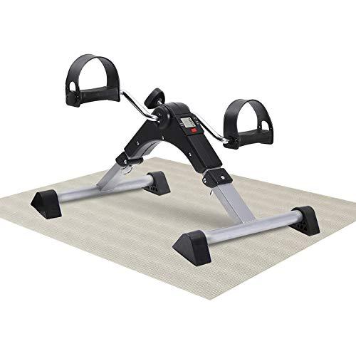 MBB Under Desk Cycle,Folding Pedal Exerciser,Mini Stationary Bike,Leg and Arm Exerciser...