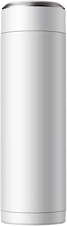 HAFIL Thermosbecher Geschfts-Isolierschale Mit Filter-Mesh-Teeschale Edelstahl-Wasserschale