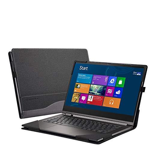 ppker for Lenovo Yoga C930 / 920/910 / 900 Case, Detachable Protective Laptop Cover for Yoga 7 Pro/Yoga 6 Pro/Yoga 5 Pro/Yoga 4 Pro 13.9 Inch Sleeve (for Yoga 900/910 / 920 / C930 13.9', Grey)