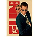 ZJYWYCN Poster Jim Carrey Retro Poster Die Truman Show Film