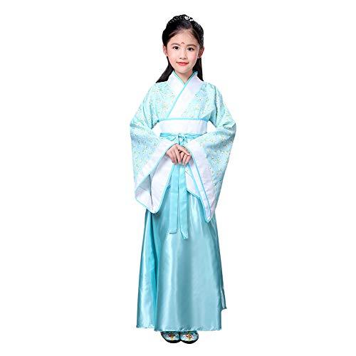 Haodasi Chinesisch Traditionell Hanfu Mädchen Bühnenperformance Tanz Kostüm Cosplay Party Kleidung Prinzessin Kleid