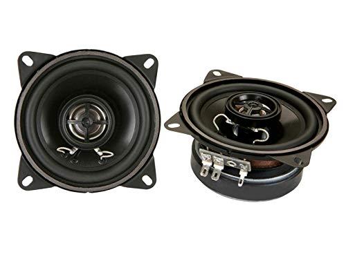 DLS CC-M224 10cm / 4 inch 2-wegs coax-luidspreker 50W RMS | 4Ohm | Inbouwdiepte: 4,8 cm | Kleur: zwart | Frequentie: 75-18.000 Hz | Gevoeligheid: 85dB (1W/1m) | Inbouwdiameter: 97mm