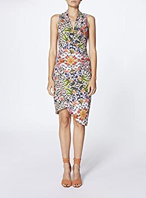 Nicole Miller Women's's Amazon Scarf Stefanie Dress Casual
