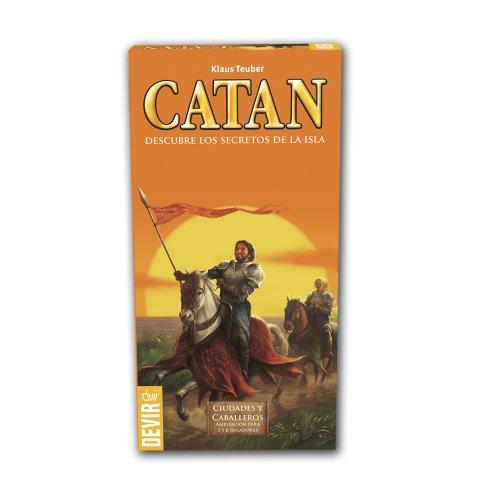 Devir, Catan, steden en ridder, uitbreiding voor 5 en 6 spelers (bgciu56)