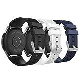 MoKo 22mm Correa para Galaxy Watch 3 45mm/Galaxy Watch 46mm/Gear S3 Classic/S3 Frontier/Huawei Watch...