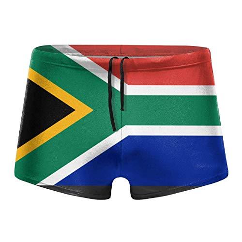 YYRR South-African-Flag Men Swimwear Bikini Swim Brief Board Shorts Surf Boxer Trunks Trajes de baño