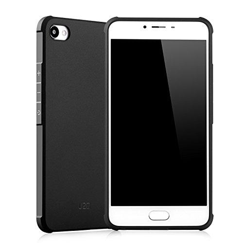 COVO Fermezza e Flessibilità Back Cover Style Smartphone Custodie per Meizu U20 (Nero)