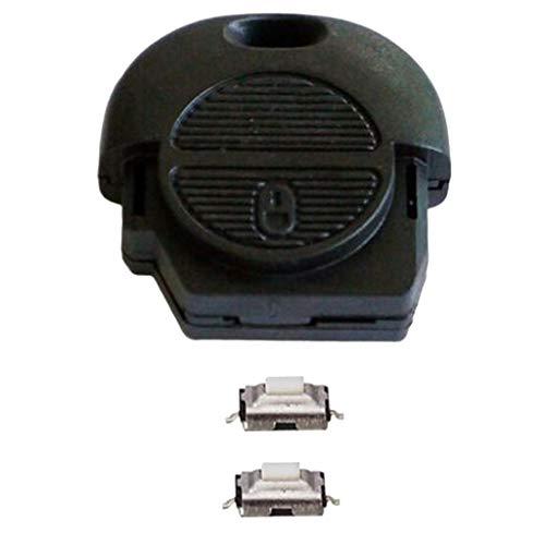 Générique Remplacement Kit de Réparation Coque de Clé Télécommande Pour Nissan Nats